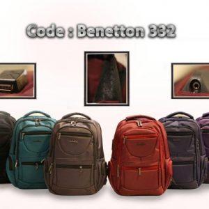 کیف چرم beneton مدل 332